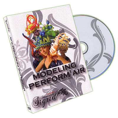 Modeling Perform Air - Monsieur Sigrid - DVD - Globoflexia