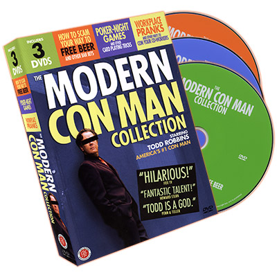 Modern Con Man Collection (3 DVD Set) by Todd Robbins - DVD