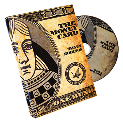 Money Card by Shaun Robison and Paper Crane Productions - DVD