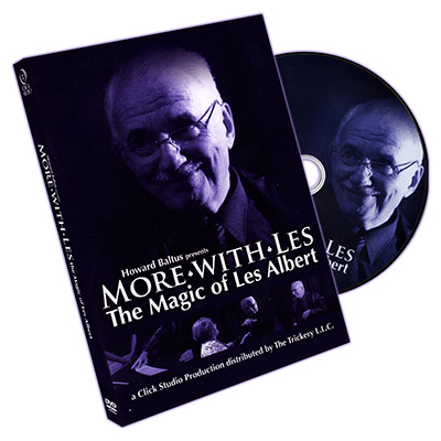Howard Baltus Presents More with Les - The Magic of Les Albert - DVD
