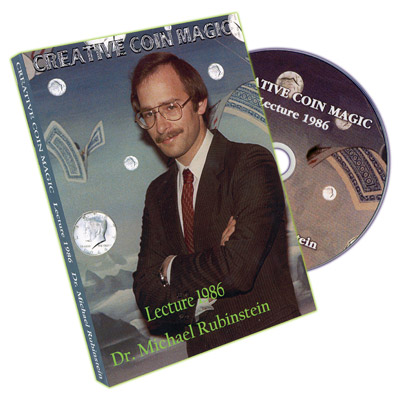 Creative Coin Magic - 1986 Lecture by Dr. Michael Rubinstein - DVD