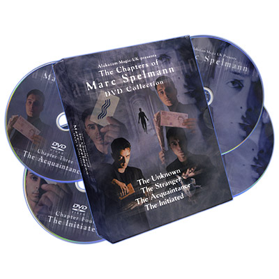 The Chapters of Marc Spelmann (4 DVD Set) by Marc Spelmann - DVD
