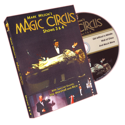 Magic Circus Volume 2 (Shows 3&4) by Mark Wilson - DVD