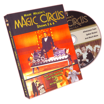 Magic Circus Volume 3 (Shows 5&6) by Mark Wilson - DVD