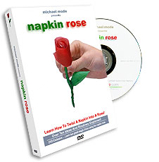 Napkin Rose by Michael Mode - DVD