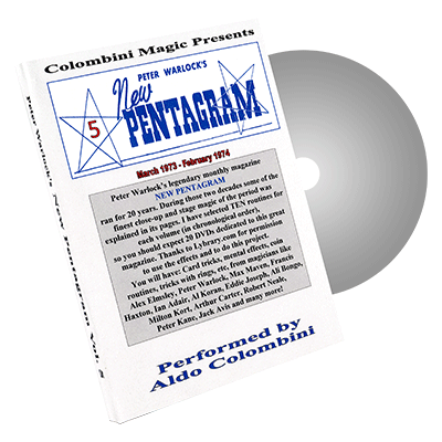 New Pentagram Vol.5 by Wild-Colombini Magic - DVD