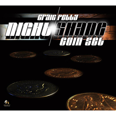 Night Shade Coin Set (Coins and DVD) by Craig Petty and World Magic Shop - DVD