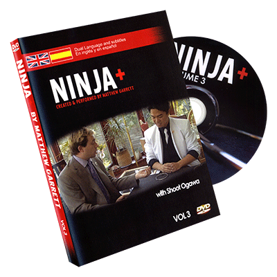 Ninja + Volume 3 (DVD, SPANISH and English) by Matthew Garrett