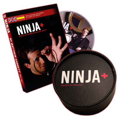 Ninja+ 1 & 2 (Props and DVD, SPANISH and English) by Matthew Garrett - DVD