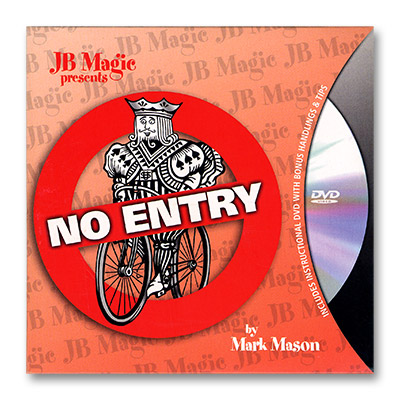 No Entry by Mark Mason and JB Magic - DVD