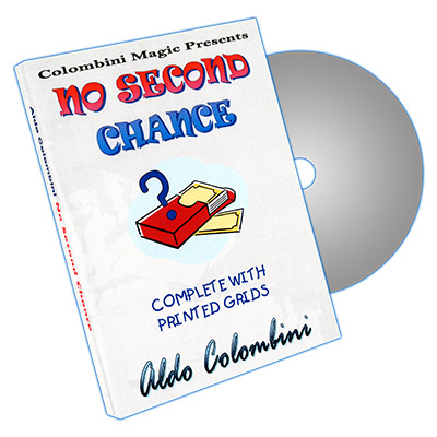 No Second Chance by Aldo Colombini - DVD