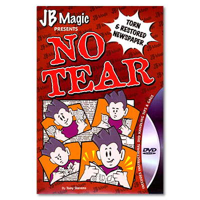 No Tear by Mark Mason and JB Magic - DVD