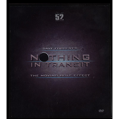 Nothing In Transit (Gimmicks and DVD) by David Forrest - DVD