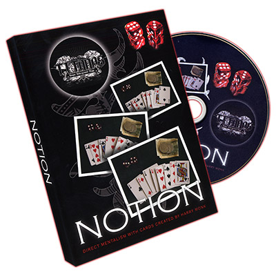 Notion (DVD and Gimmick) by Harry Monk and Titanas