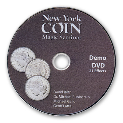 Catalogo de Trucos de Magia - Vol.1 - New York Coin Magic & Coin Champions- DVD de Magia
