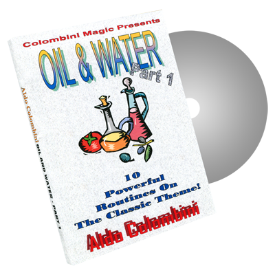 Oil and Water Part One by Wild-Colombini Magic - DVD