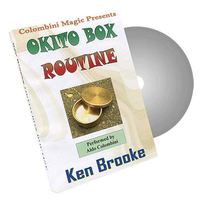Okito Box Routine by Wild-Colombini Magic - DVD