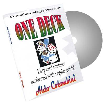 One Deck by Wild-Colombini Magic - DVD