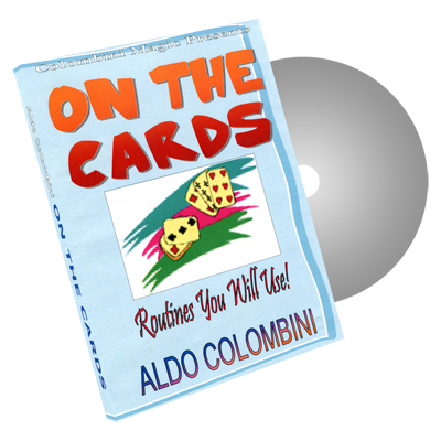 On The Cards by Wild-Colombini Magic - DVD
