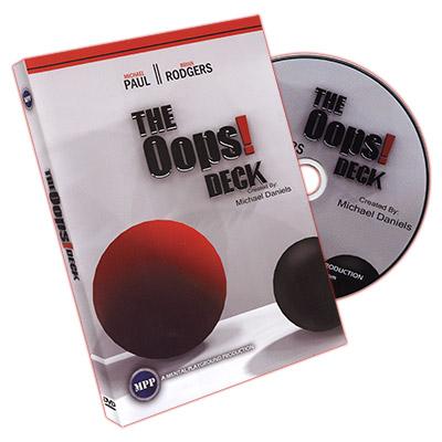Oops Deck (Deck &DVD) - Michael Daniels