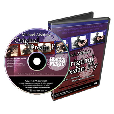 Original Dream Fly by Michael Afshin and Black's Magic - DVD