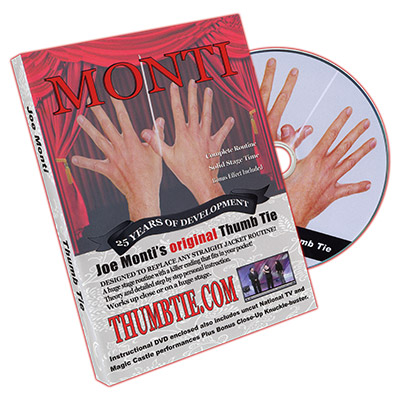 Joe Monti's Original Thumb Tie by Joe Monti- DVD