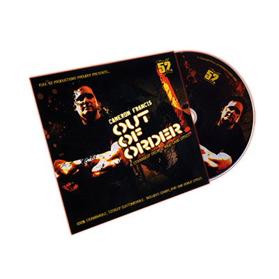 Out of Order by Cameron Francis - DVD