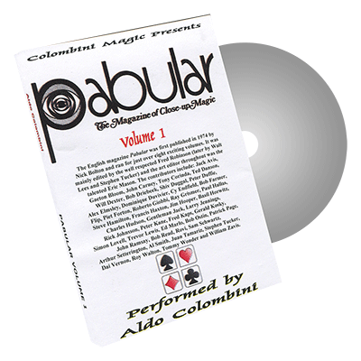 Pabular Vol. 1 by Wild-Colombini Magic - DVD