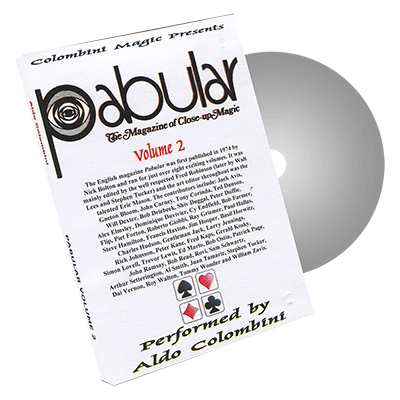 Pabular Vol. 2 by Wild-Colombini Magic - DVD