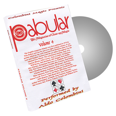 Pabular Vol. 4 by Wild-Colombini Magic - DVD
