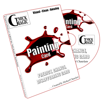 Painting (DVD and RED Back Gimmick) by Mickael Chatelain - DVD