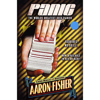 Panic (DVD and BLUE Gimmick) by Aaron Fisher - DVD