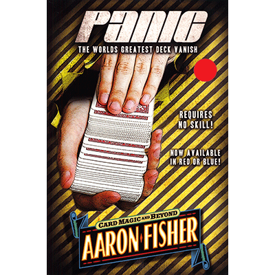 Panic (DVD and RED gimmick) by Aaron Fisher - DVD