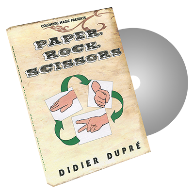 Paper, Rock, Scissors by Didier Dupre and Wild-Colombini - DVD