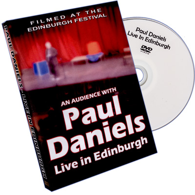 Live in Edinburgh by Paul Daniels - DVD