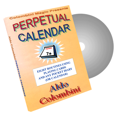 Perpetual Calendar by Wild-Colombini Magic - DVD