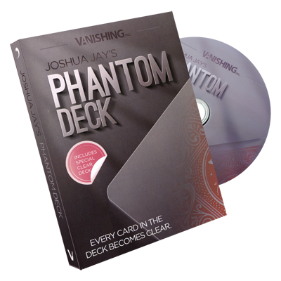 Phantom Deck (DVD and gimmick) by Vanishing, Inc. - Trick