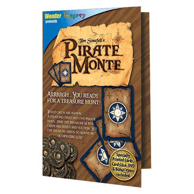 Pirate Monte by Tim Sonefelt - Trick