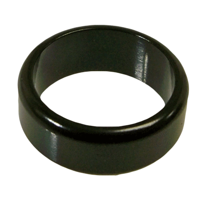 Anillo Wizard DarK FLAT Band PK Ring (24 mm, con DVD)
