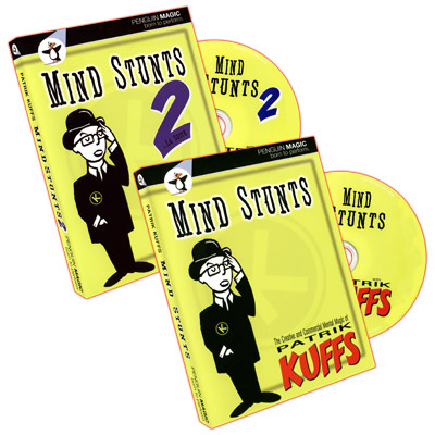 Mind Stunts by Patrik Kuffs - Volume 1 & 2 - DVD