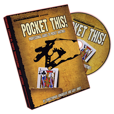 Pocket This by Christopher Congreave and Gary Jones - DVD