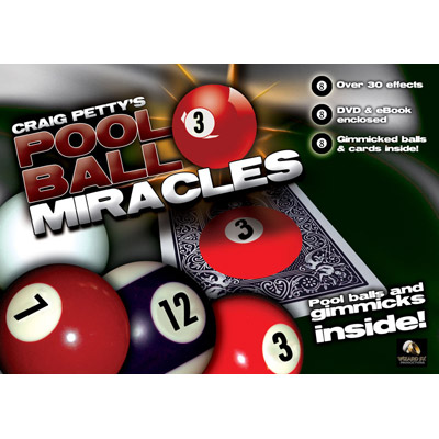 Pool Ball Miracle (DVD and Props) by Craig Petty and Wizard FX Productions - DVD