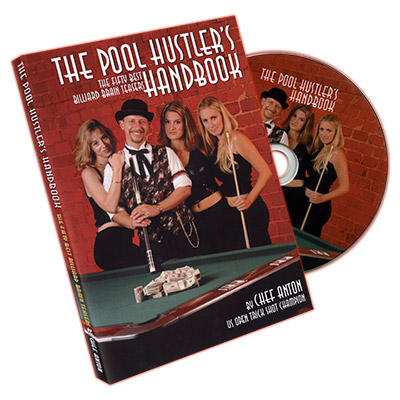 The Pool Hustler's Handbook by Chef Anton - DVD