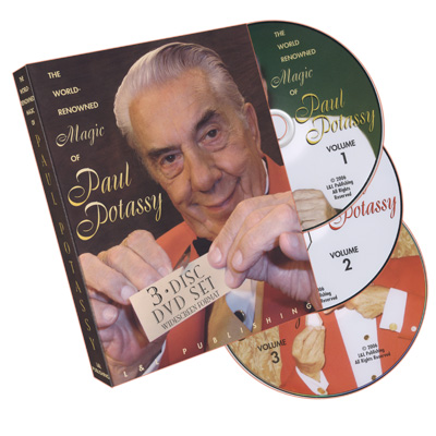 World Renowned Magic of Paul Potassy - DVD
