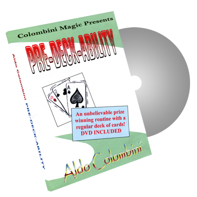 Pre-Deck-Ability by Wild-Colombini Magic - DVD