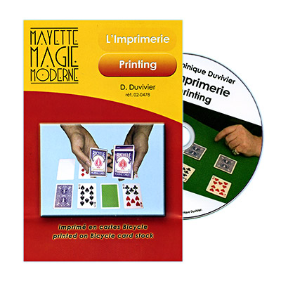 Printing (With DVD) by Dominique Duvivier - DVD