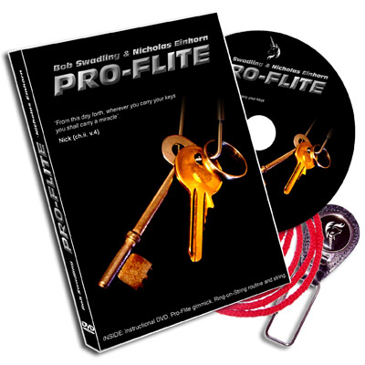 Pro-Flite (Gimmick and DVD) by Nicholas Einhorn and Robert Swadling - DVD