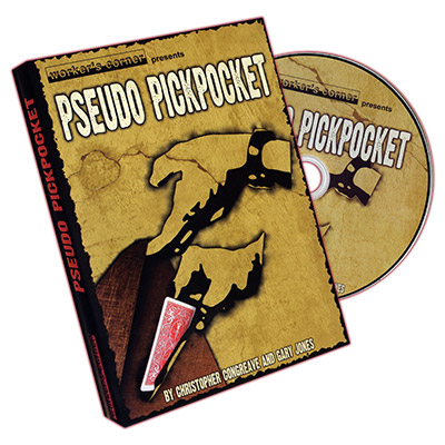 Pseudo Pickpocket by Christopher Congreave and Gary Jones - DVD