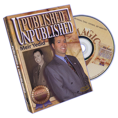 Published & Unpublished by Meir Yedid - DVD