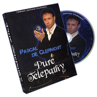 Pure Telepathy by Pascal de Clermont and Stephane Jardonnet Productions - DVD